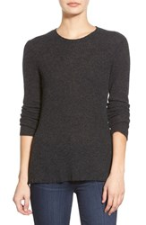 Women's James Perse Ribbed Cashmere Sweater Anthracite