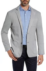 Bugatchi Two Button Blazer Platinum