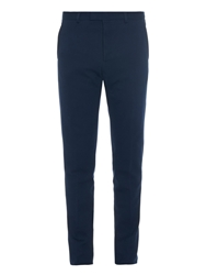 Gucci Slim Fit Cotton Tricotine Jersey Trousers
