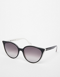 Vivienne Westwood Cat Eye Sunglasses Black