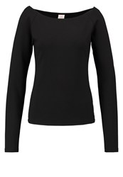 Deha Long Sleeved Top Black
