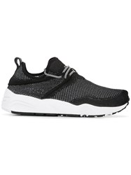 Puma Elasticated Lace Up Sneakers Black