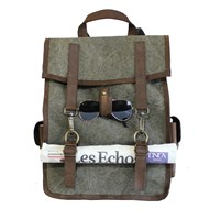 Kjore Project Evolution Of Goods Survey Evolution Backpack Green Canvas