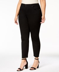 Charter Club Plus Size Bristol Skinny Ankle Jeans Created For Macy's Saturated Black