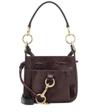 See By Chloe Tony Small Leather Bucket Bag Red