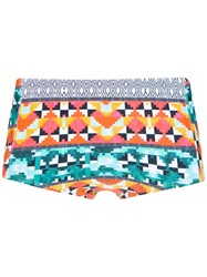 Lygia And Nanny Printed 'Parati' Swim Trunks Polyamide Spandex Elastane