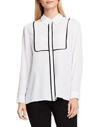 Vince Camuto Georgette Button Up Blouse
