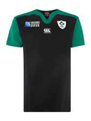 Canterbury Of New Zealand Ireland Home Classic Ls Rugby Rwc Black