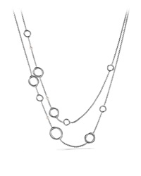 Infinity Necklace With Pearls David Yurman