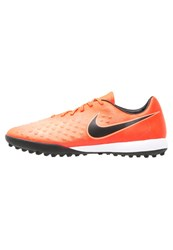 Nike Performance Magistax Onda Ii Tf Astro Turf Trainers Total Crimson Black Bright Mango Red