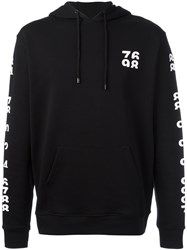 Marcelo Burlon County Of Milan Numbers Print Hoodie Black