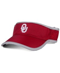 Top Of The World Oklahoma Sooners Baked Visor Orange