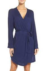 Honeydew Intimates Women's Jersey Robe Navy