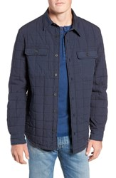 Ugg Quilted Shirt Jacket Navy