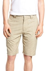 O'neill Men's Delta Glen Plaid Shorts Dark Stone
