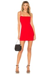 Susana Monaco Laurie Mini Dress Red