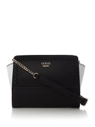 Guess Devyn Studded Tote Bag Monochrome