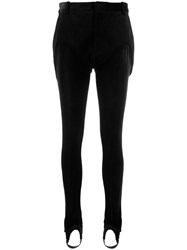 Y Project Corduroy Slim Trousers Black
