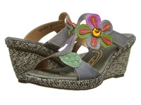 Spring Step Riviera Gray Women's Sandals