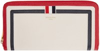 Thom Browne Tricolor Leather Long Wallet