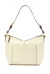 Hobo Charlie Leather Shoulder Bag Magnolia