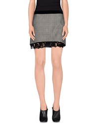 Frankie Morello Skirts Mini Skirts Women Grey