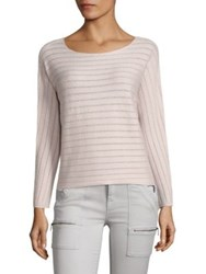 Joie Cashmere Blend Kerenza Sweater Heather Sterling Petal
