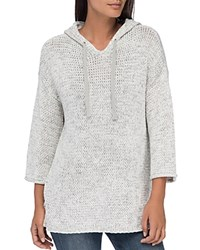 B Collection By Bobeau Nori Hooded Sweater Silver Cloud