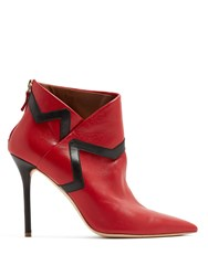 Malone Souliers X Emanuel Ungaro Amelie Bootie Black Red