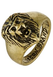 Icon Brand Selassie Ring Goldcoloured