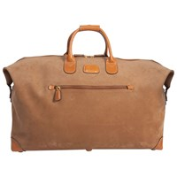 Bric's Life Clipper Medium Holdall Light Brown