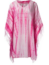 Sub Printed Kaftan Pink And Purple
