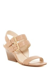 Nine West Gadele Chunky Heel Sandal White