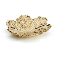 Aerin Large Gold Flower Dish