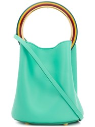 Marni Pannier Bucket Bag Green
