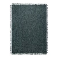 Chilewich Market Fringe Outdoor Rug Pacific Blue