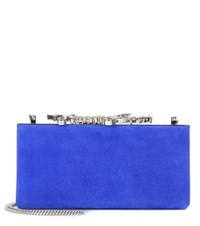 Jimmy Choo Celeste Clutch Blue