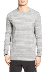 Zanerobe Men's Flintlock Longline T Shirt Space Grey