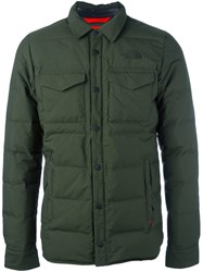The North Face Padded Field Jacket Green