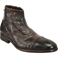 Harris Spats Boot Dark Brown