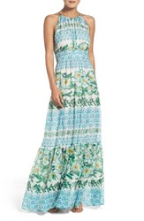 Eliza J Women's Halter Maxi Dress