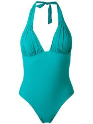 Carine Gilson Padding Triangle Swimsuit Green