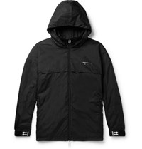 Off White Shell Windbreaker Black