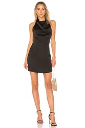 Wyldr Rain Dancer Cowl Neck Mini Dress Black