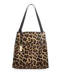 Urban Originals Wonder Leopard Print Tote Bag Black