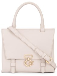 Derek Lam 10 Crosby Top Handle Tote Nude Neutrals