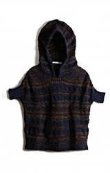 Hooded Poncho Pullover Edition01