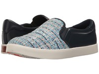 Dr. Scholl's Scout Original Collection Blue Multi Navy Tweed Women's Slip On Shoes