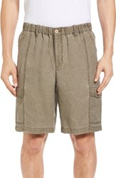 Tommy Bahama Men's Big And Tall Linen The Dream Cargo Lounger Shorts Lentil