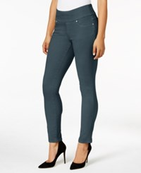 Jag Pull On Colored Wash Skinny Jeans Only At Macy's Blue